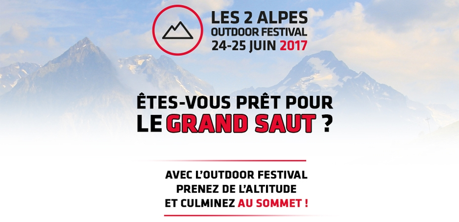 Les 2 Alpes Outdoor Festival 2017