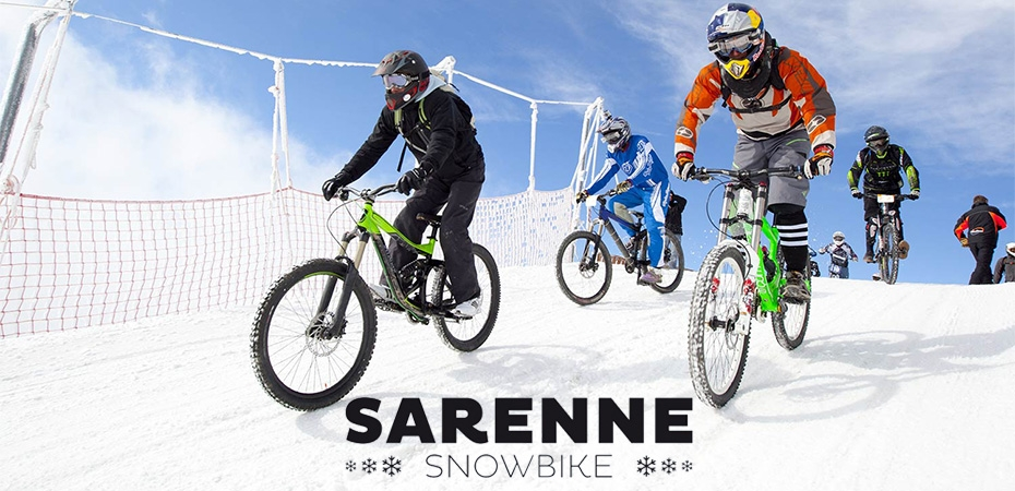 Sarenne Snow Bike 2017 in Alpe d'Huez